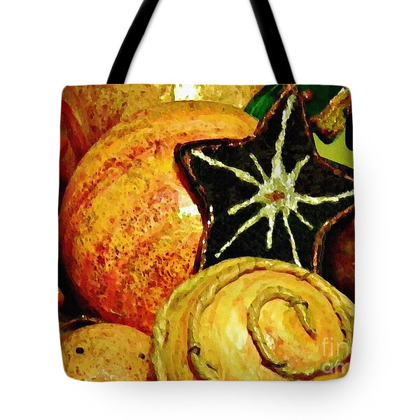 Ornaments 2 Tote Bag by Sarah Loft