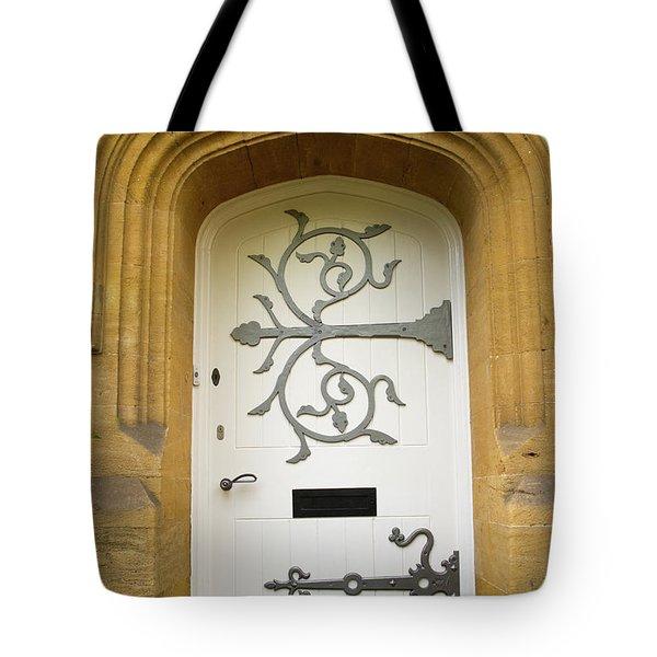 Ornate Door 1 Tote Bag by Douglas Barnett