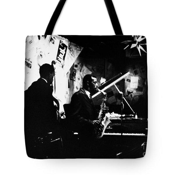 Ornette Coleman (1930-) Tote Bag by Granger