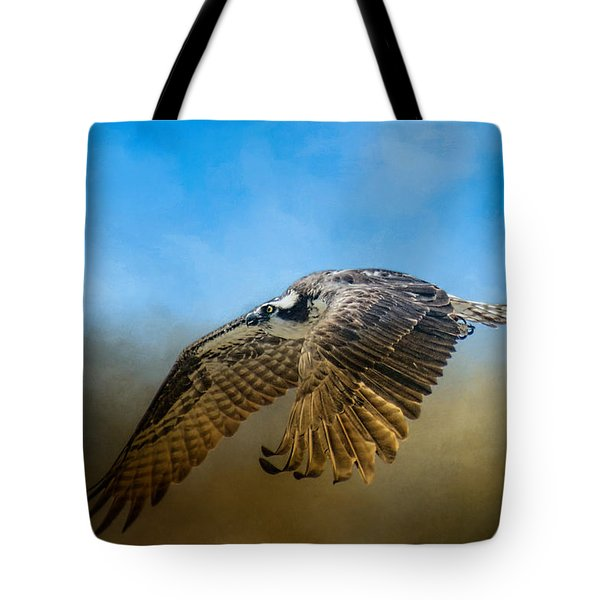 Osprey Over Pickwick Tote Bag by Jai Johnson