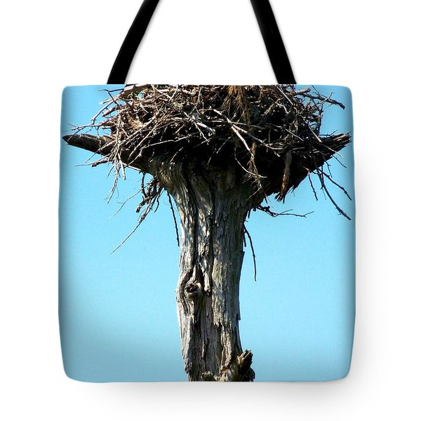 Osprey Point Tote Bag by KAREN WILES
