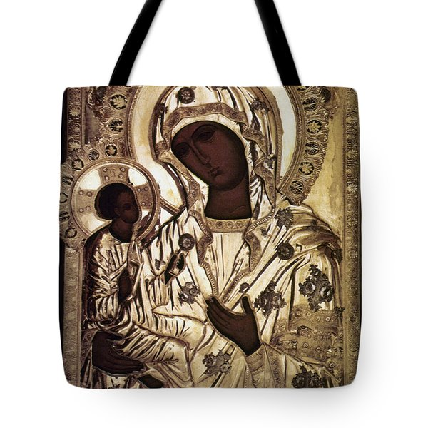 Our Lady Of Yevsemanisk Tote Bag by Granger