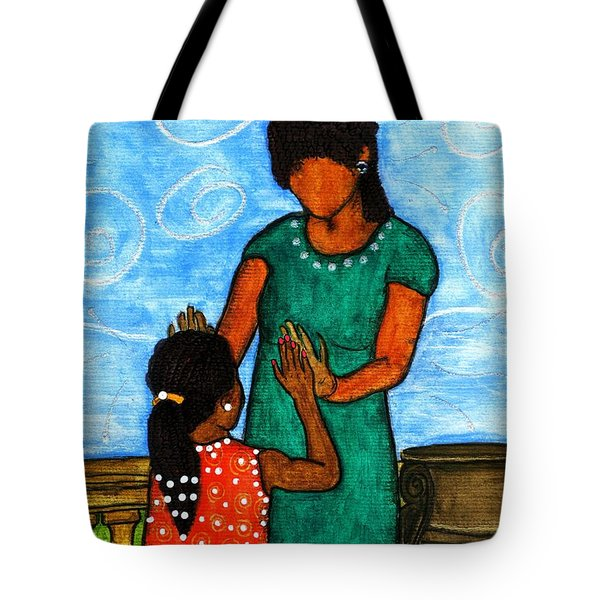 Our Time Tote Bag by Angela L Walker