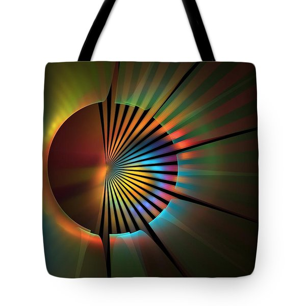 Out Of The Corner Of My Eye Tote Bag by Lyle Hatch