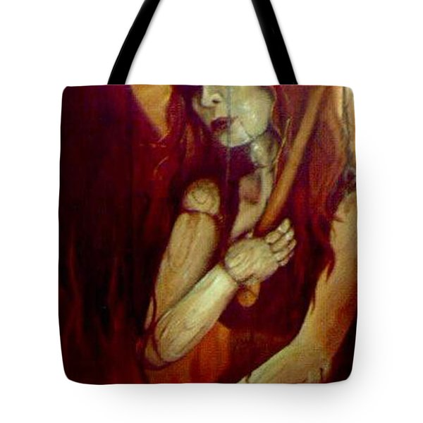 Out Of The Fire Tote Bag by Stephanie  Broker