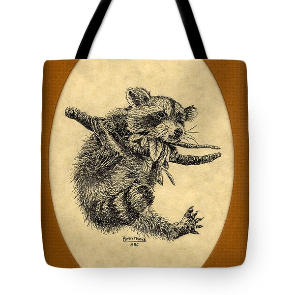 Out On A Limb Tote Bag by Karen Musick