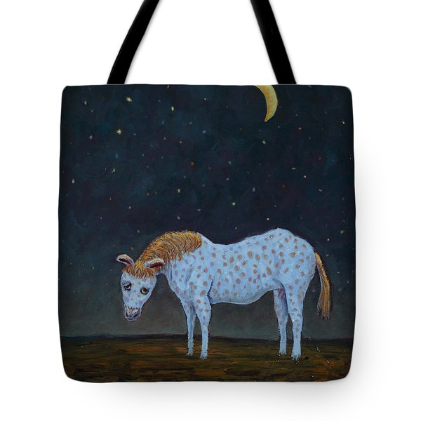 Out to Pasture Tote Bag by James W Johnson