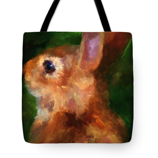Over My Shoulder Tote Bag by Jai Johnson