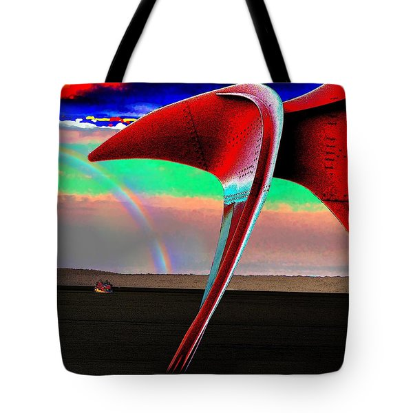 Over The Rainbow Tote Bag by Tim Allen