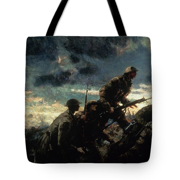 Over The Top Tote Bag by Alfred Bastien