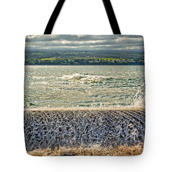 Over The Wall Tote Bag by Christopher Holmes
