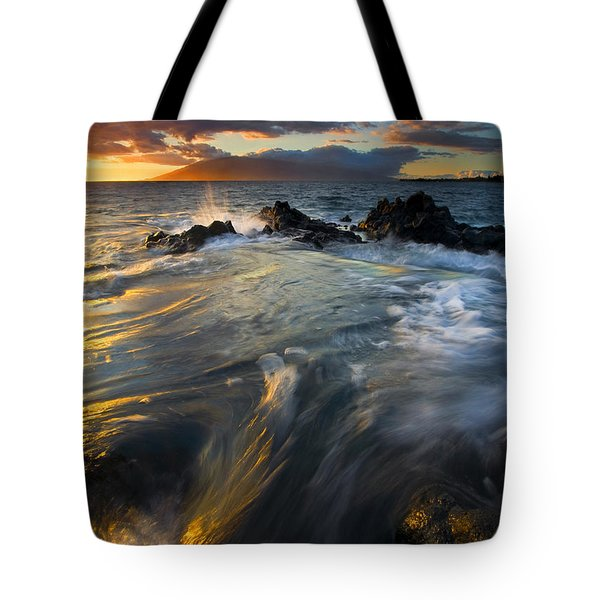 Overflow Tote Bag by Mike  Dawson