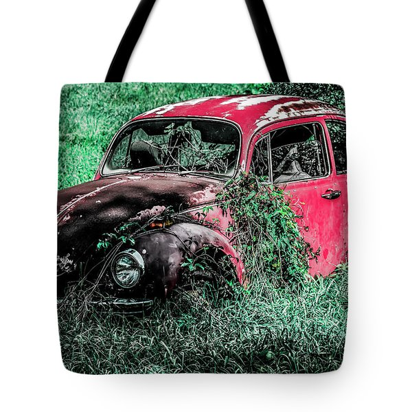 Overgrown Bug Tote Bag by Jeremy Rickman