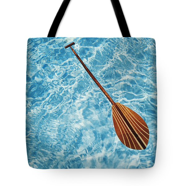 Overhead View Of Paddle Tote Bag by Joss - Printscapes