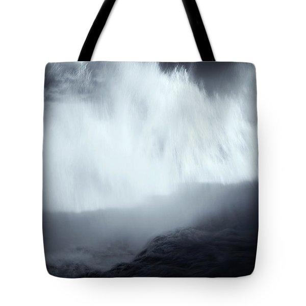 Overshadowed By Nature Tote Bag by Mike  Dawson