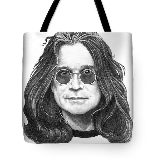 Ozzy Osbourne Tote Bag by Murphy Elliott
