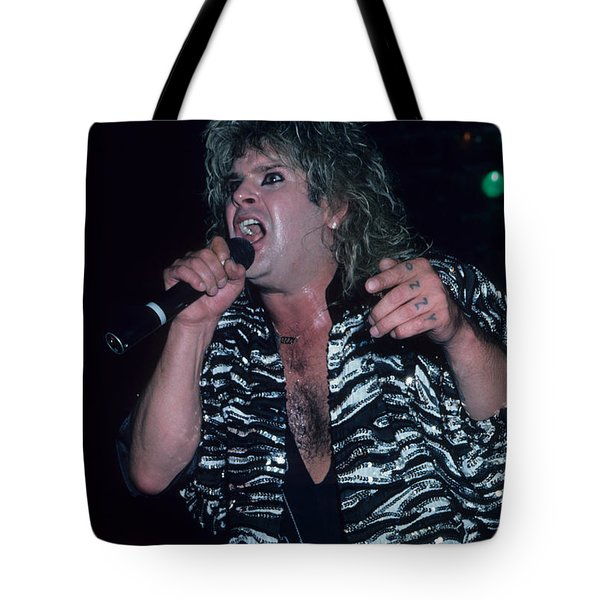 Ozzy Osbourne Tote Bag by Rich Fuscia