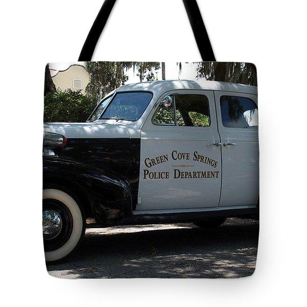 P D Cruiser Tote Bag by Bob Johnson