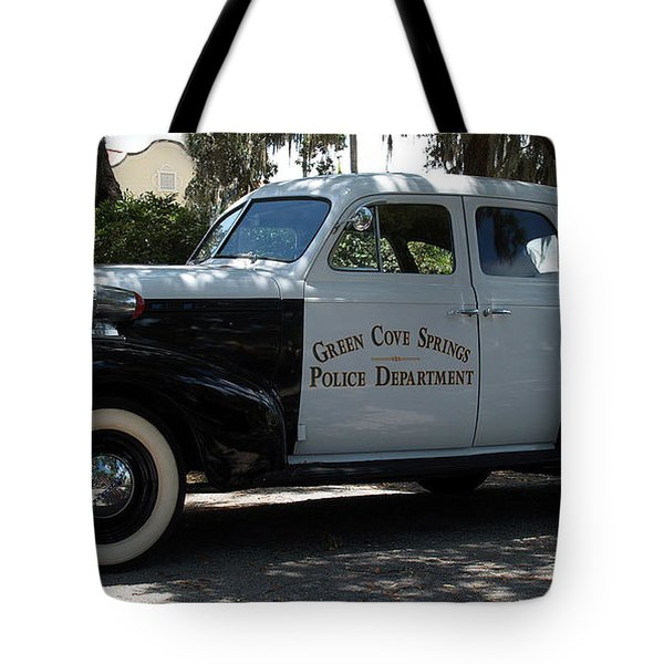 P D Cruiser Tote Bag by Bob Johnson