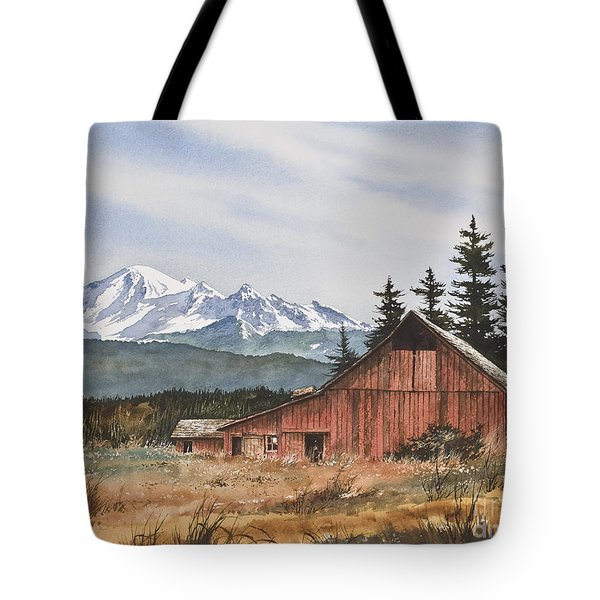 Pacific Northwest Landscape Tote Bag by James Williamson