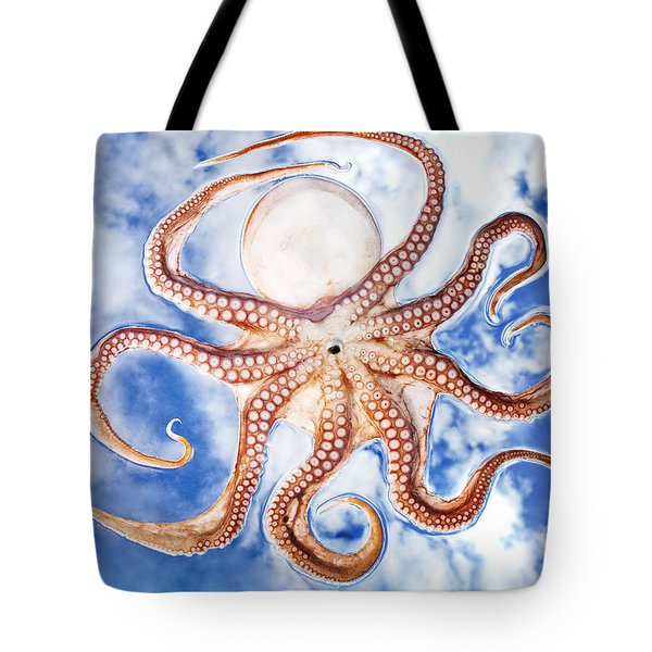 Pacific Octopus Tote Bag by Mike Raabe
