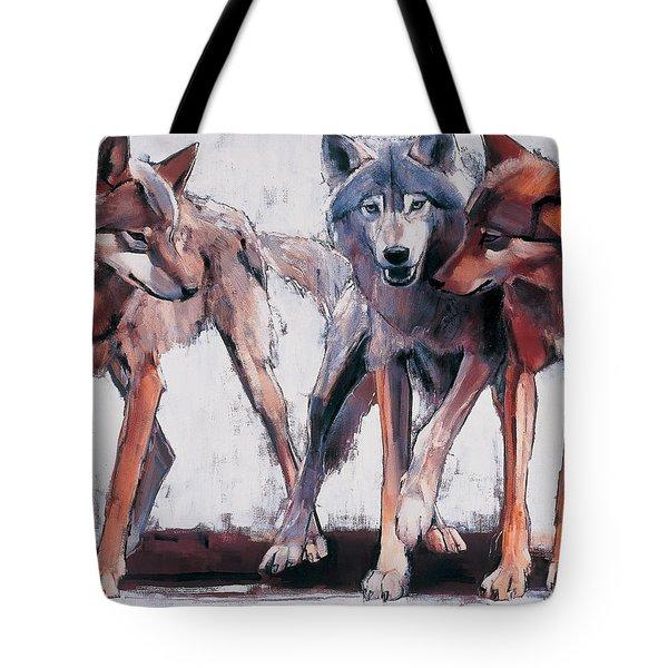 Pack Leaders Tote Bag by Mark Adlington