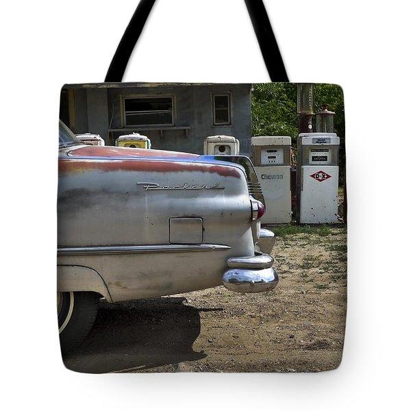 Packard Tote Bag by Skip Hunt