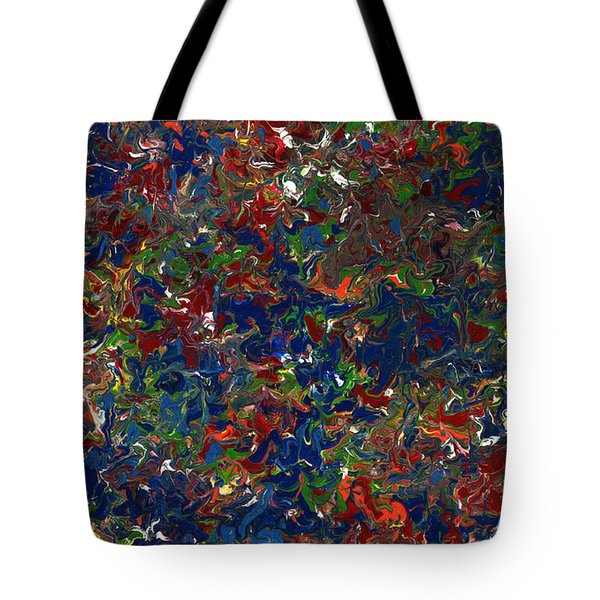 Paint number 1 Tote Bag by James W Johnson