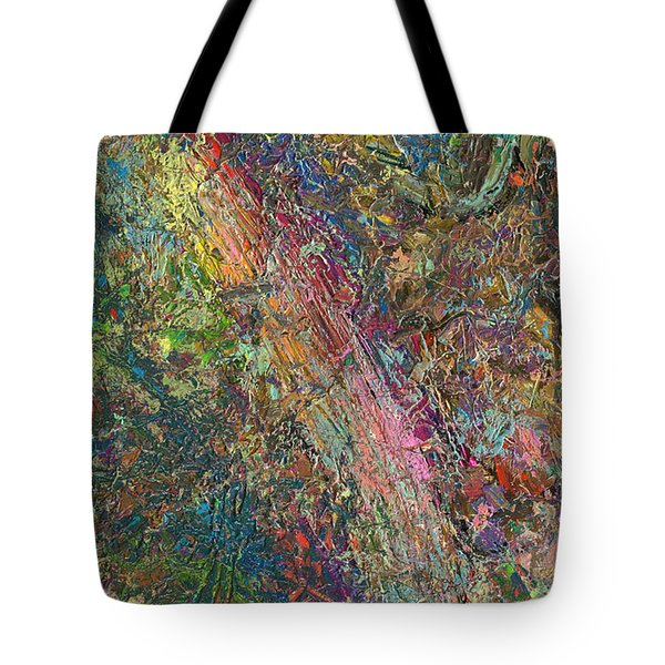 Paint Number 27 Tote Bag by James W Johnson