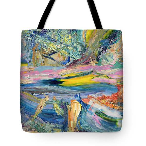 Paint number 31 Tote Bag by James W Johnson