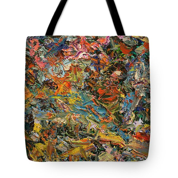 Paint Number 35 Tote Bag by James W Johnson
