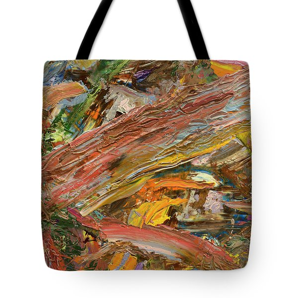 Paint Number 41 Tote Bag by James W Johnson