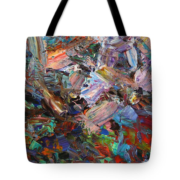 Paint number 42-c Tote Bag by James W Johnson