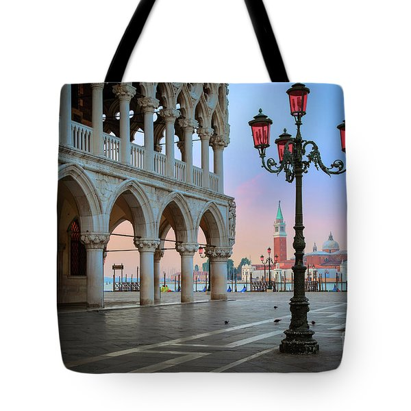 Palazzo Ducale Tote Bag by Inge Johnsson