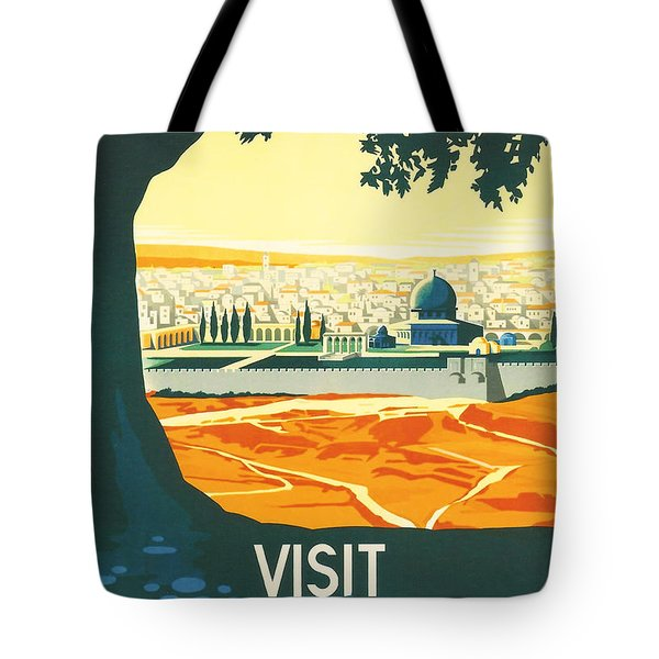 Palestine Tote Bag by Nomad Art And  Design