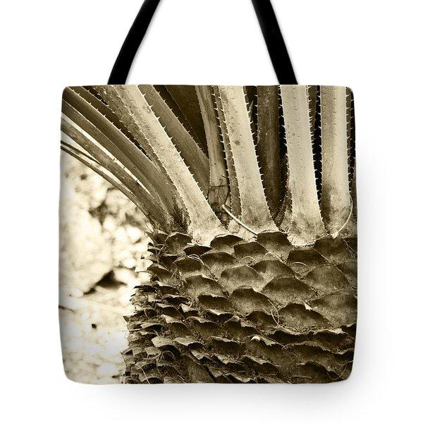 Palm Abstraction Tote Bag by Ben and Raisa Gertsberg