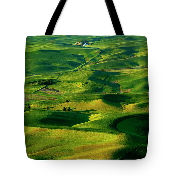 Palouse Morning Tote Bag by Mike  Dawson