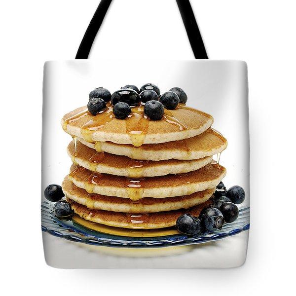 Pancakes Tote Bag by Glennis Siverson