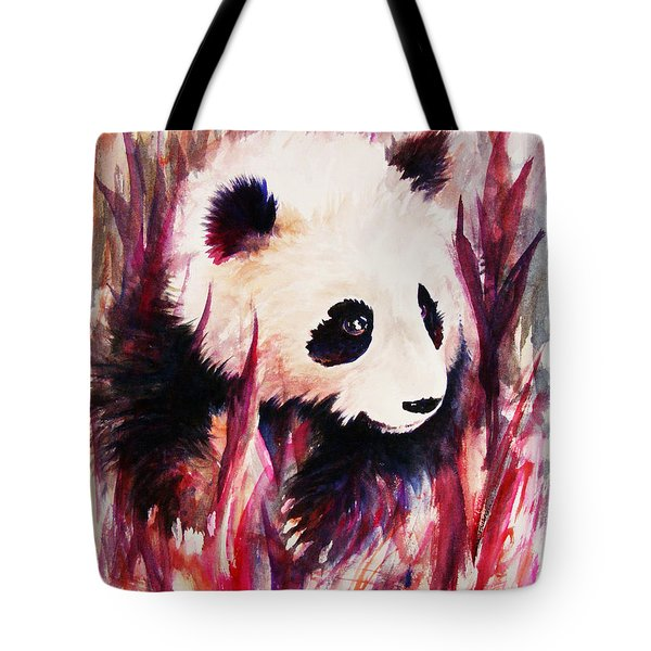 Panda Tote Bag by Rachel Christine Nowicki