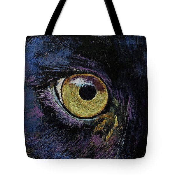 Panther Eye Tote Bag by Michael Creese