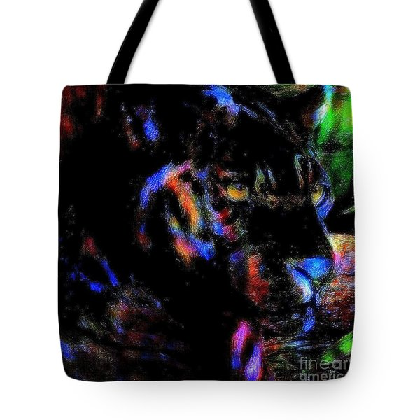 Panther Tote Bag by WBK