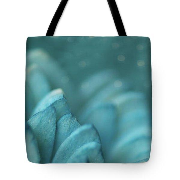 Paper Flower Tote Bag by Lisa Knechtel