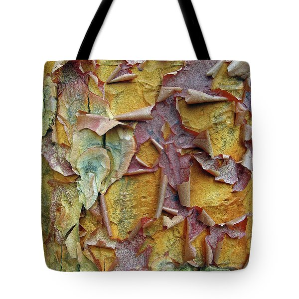 Paperbark Maple Tree Tote Bag by Jessica Jenney