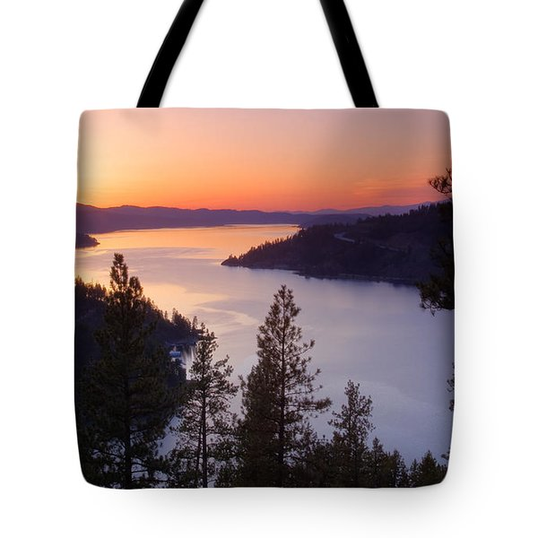 Paradise View Tote Bag by Idaho Scenic Images Linda Lantzy