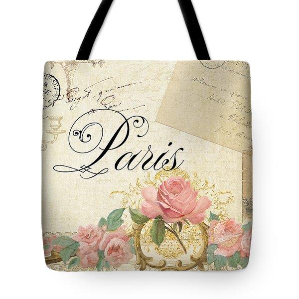 Parchment Paris - Timeless Romance Tote Bag by Audrey Jeanne Roberts