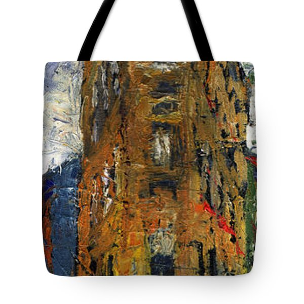 Paris Hotel 7 Avenue Tote Bag by Yuriy  Shevchuk