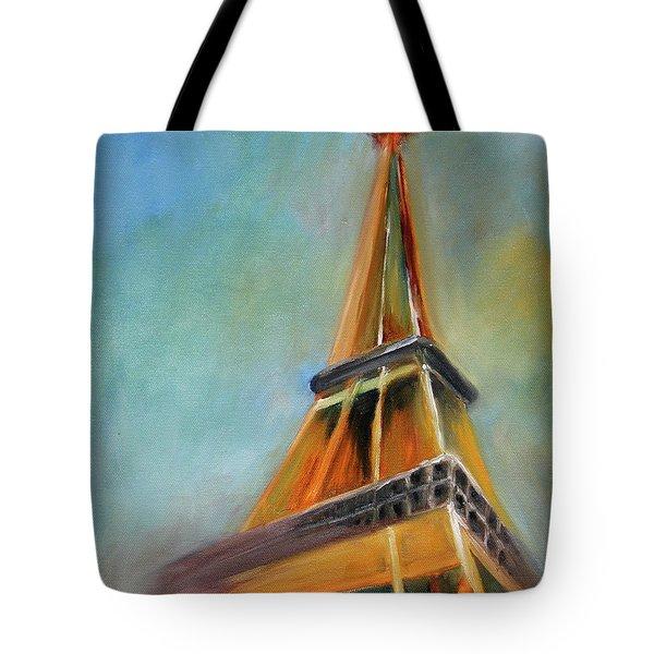 Paris Tote Bag by Jutta Maria Pusl