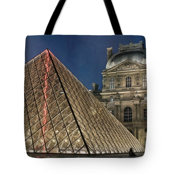 Paris Louvre Tote Bag by Juli Scalzi