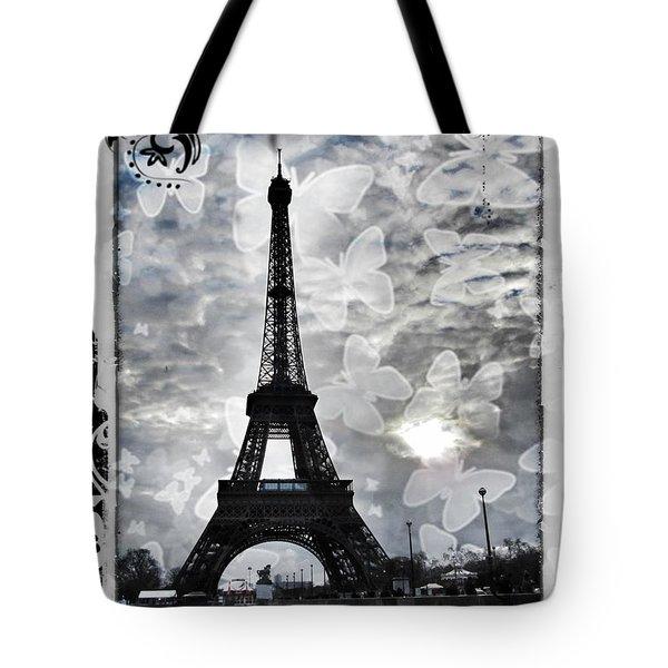 Paris Tote Bag by Marianna Mills