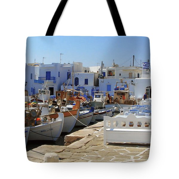 Paros Tote Bag by Christo Christov